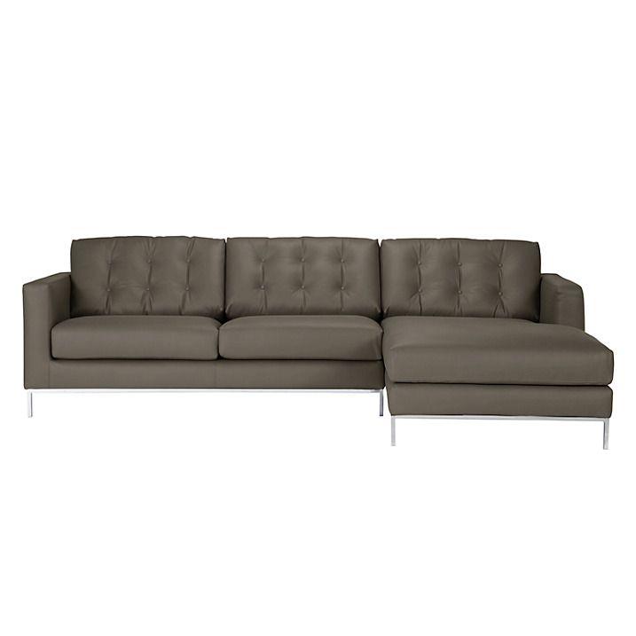 Furia Odyssey Leather Rhf Corner Unit Arredo Mole Corner Unit John Lewis Sofas Sofa