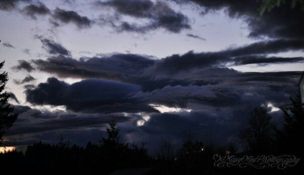 Storm clouds... ©Mary Mae Photography