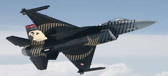 Turkish air force solo turk f16