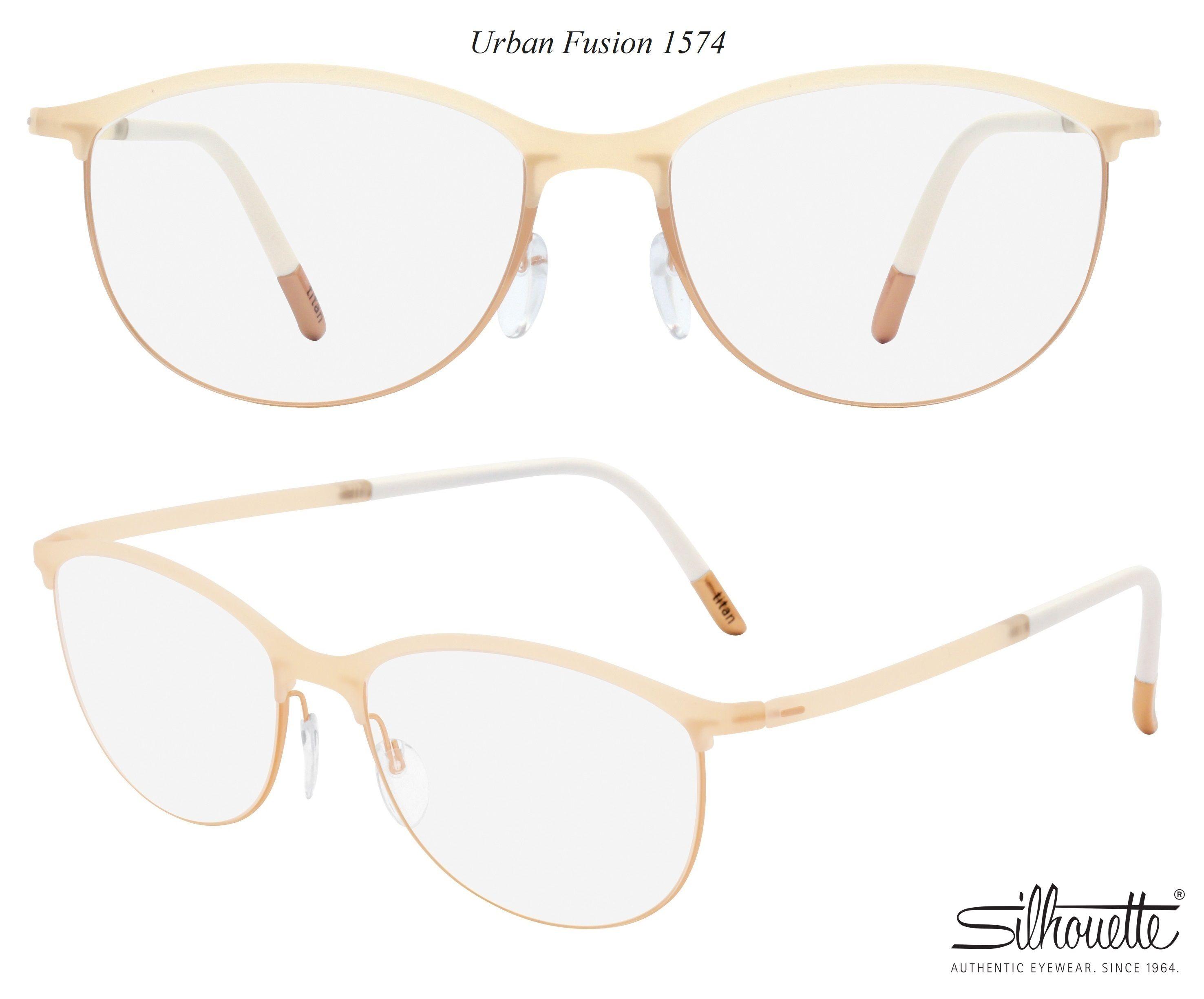 1d57f850c19c1 Silhouette Urban Fusion Fullrim 1575 20-6056 Ivory Eyeglasses ...