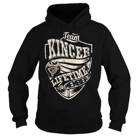 I Love Team KINCER Lifetime Member (Dragon) - Last Name, Surname T-Shirt T shirts