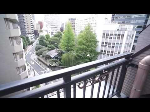 御成門、神谷町の高級分譲賃貸マンション!菱和パレス虎ノ門7階1R27.76㎡の室内動画