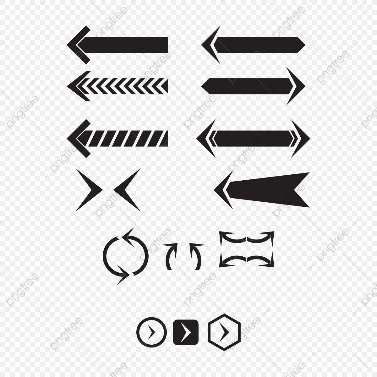 Gambar Anak Panah Simbol Latar Belakang Bahan Bentuk Anak Panah Hitam Arah Png Dan Vektor Untuk Muat Turun Percuma Panah Simbol Grafik