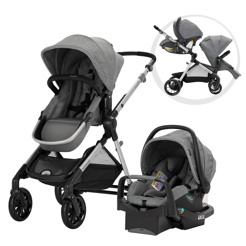 Evenflo Pivot Xpand Travel System in 2020 Baby car seats