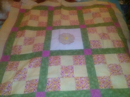 Cancer Cuddle Quilt