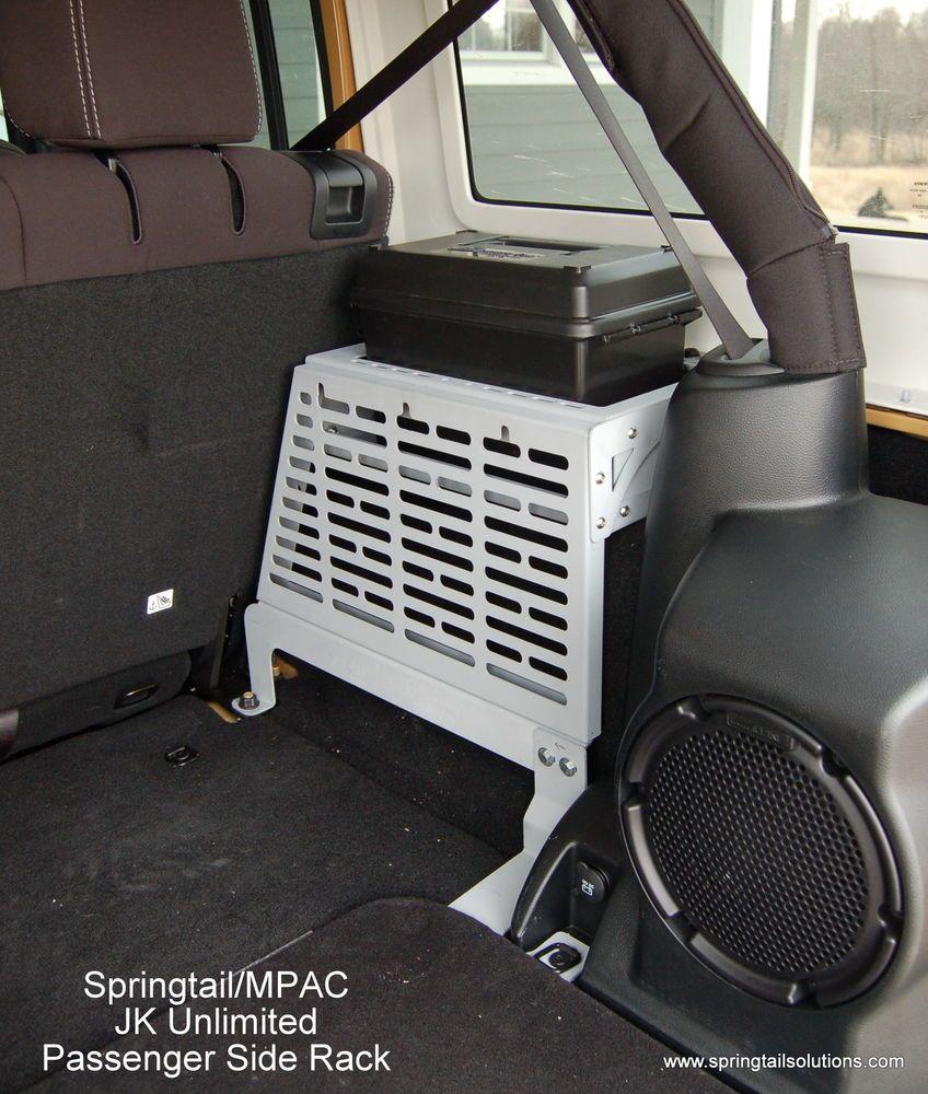 Jk Unlimited Rear Storage Passenger Side Molle Panel For