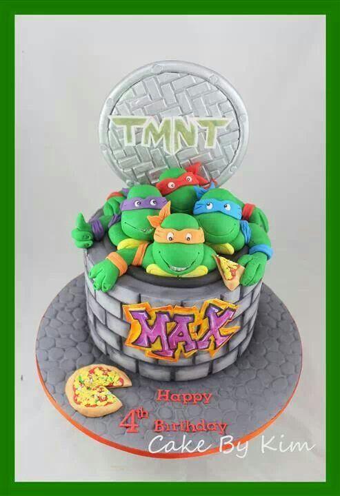 turtles kage