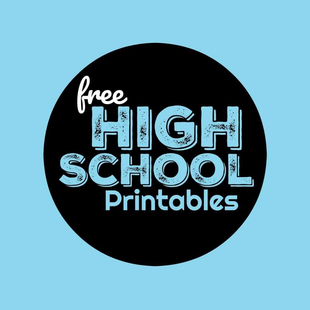 Free High School Worksheets School Worksheets 10th Grade Math 10th Grade Math Worksheets [ 1024 x 1024 Pixel ]