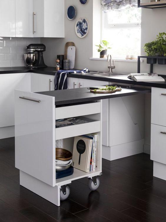 Cómo organizar la cocina como un profesional