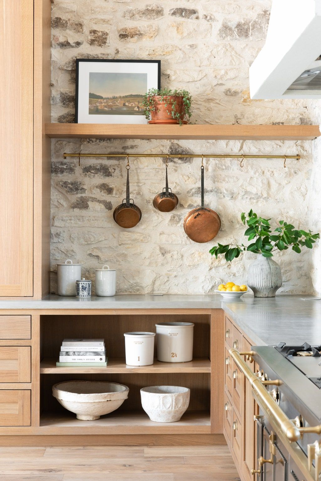 Joanna Gaines Shows Off The Set Of Her Future Cooking Show Kitchen Design House Interior Kitchen Decor