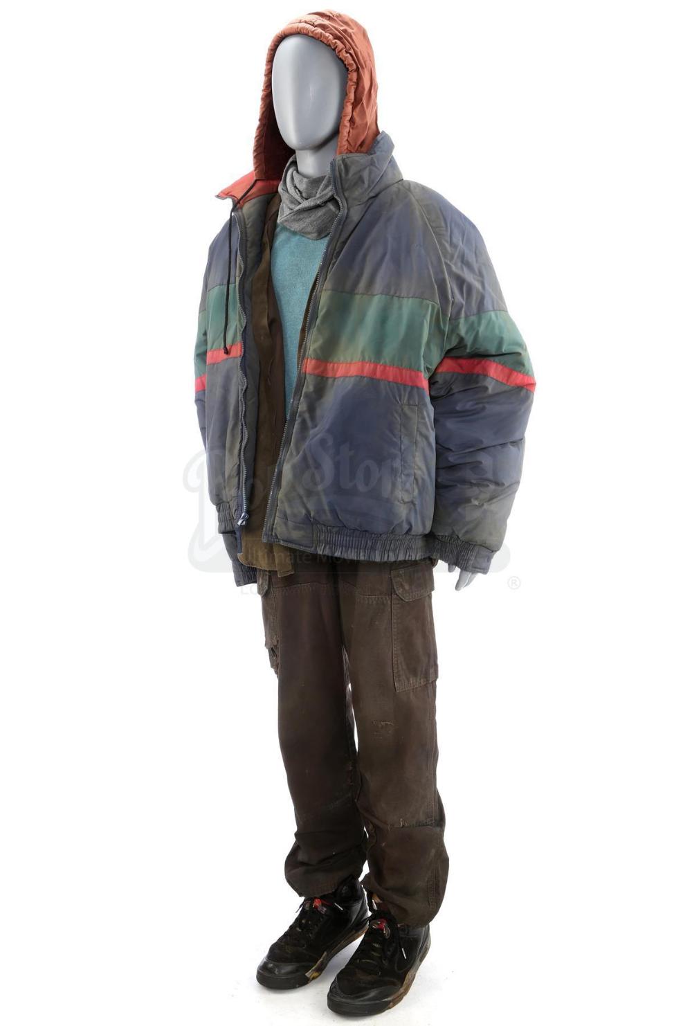 Lot 414 John Wick Chapter 3 Parabellum Distressed Bowery Homeless Man Stunt Costume Price Estimate In 2021 Homeless Clothing Homeless Man Homeless