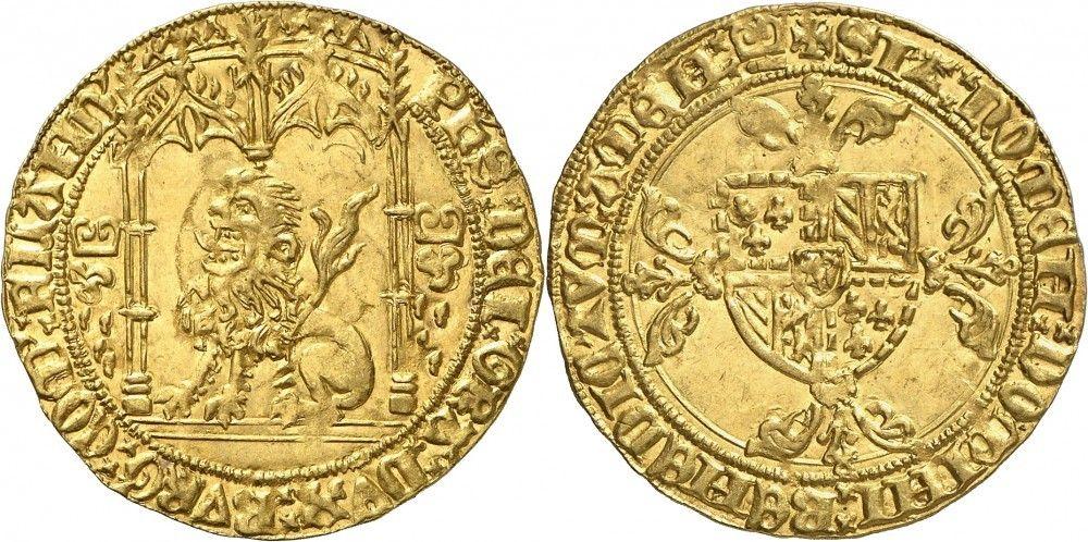 Low Countriesflanders Av Lion Dor Nd Brugges Mint 423g