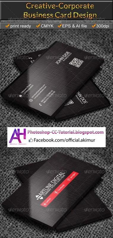 Corporate Business Card Vector EPS AI