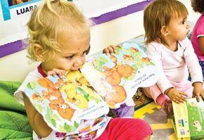 A Nova Escola acompanhou um dia de atividades com crianças de 1 e 2 anos, na IMI Maroca Veneziani, creche municipal de São José dos Campos, e registou tudo o que elas aprenderam.