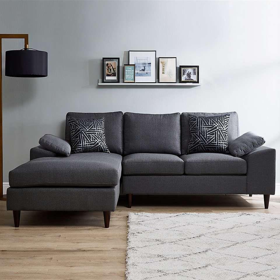 Antonia Grey Right Hand Corner Sofa Dunelm Corner Sofa Grey Corner Sofa Sofa
