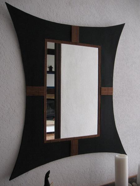 Miroir Ethnique Meuble En Carton Mobilier De Salon Miroir Ethnique