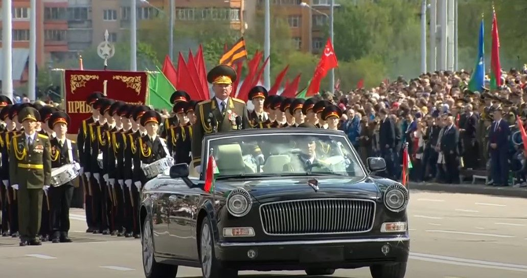 In Video Belarus Holds Massive Victory Day Parade