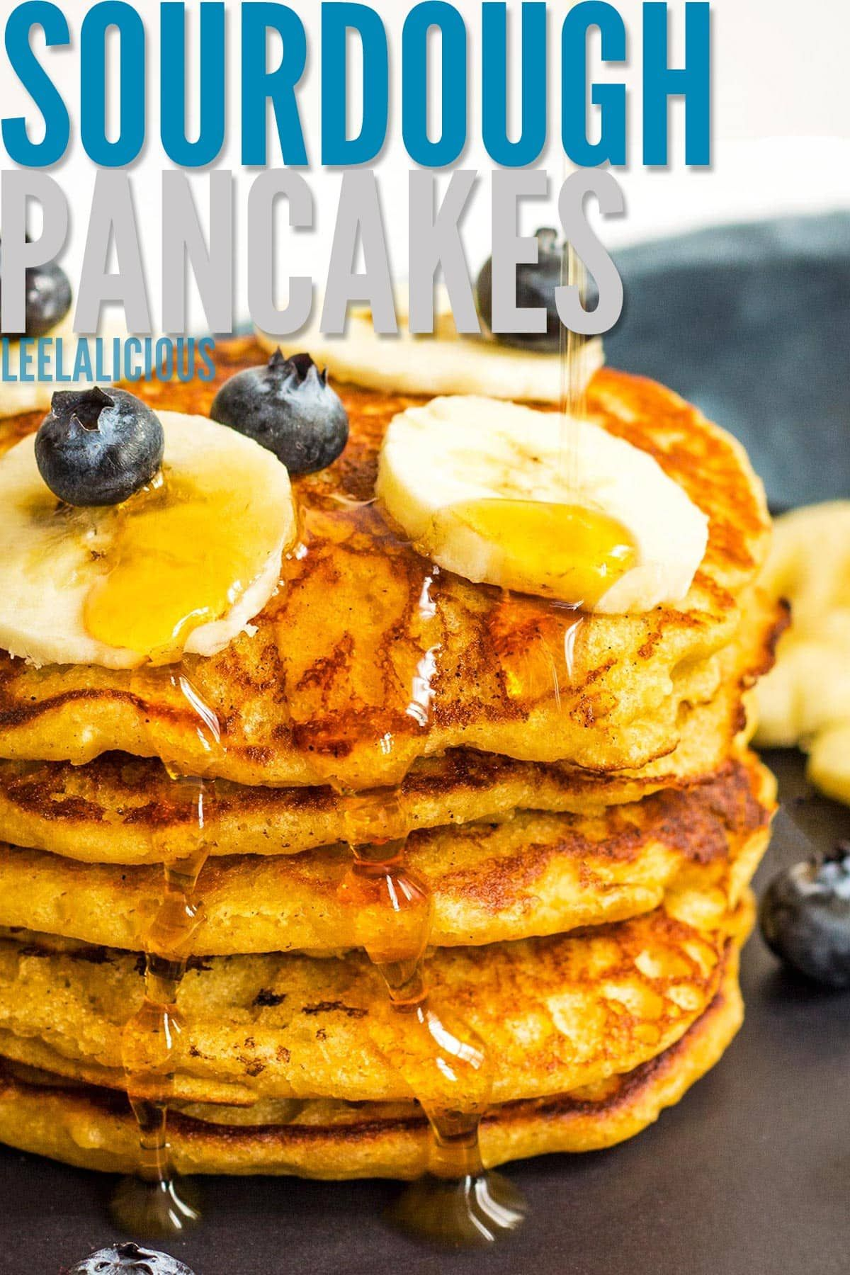 These Sourdough Pancakes Are Incredibly Fluffy With A Hint Of Sourdough Tang This Is A Great Pancake Su In 2020 Sourdough Pancakes Sourdough Sourdough Pancakes Recipe