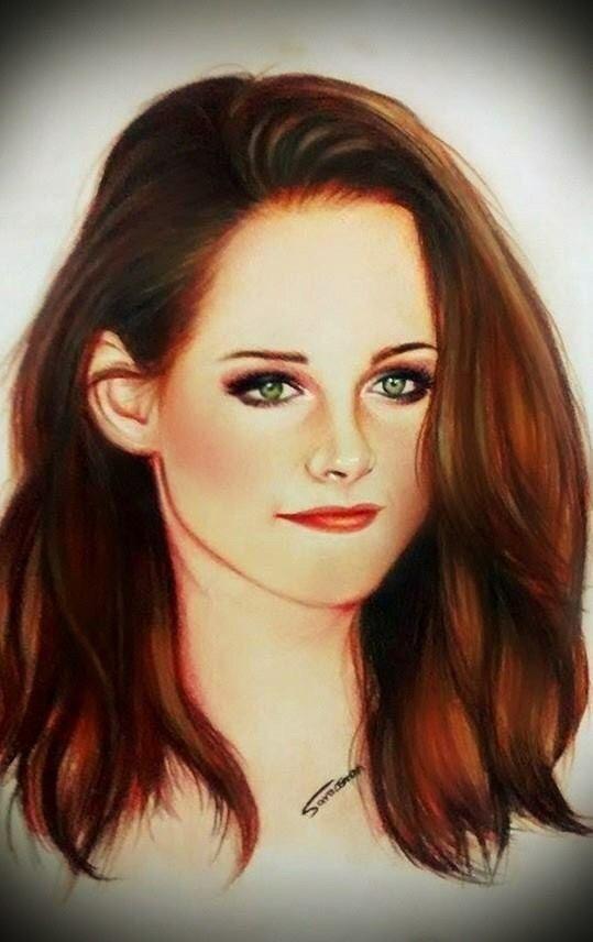 كريستين ستيوارت Kristen Stewart رسم سارة عثمان Art Eye Drawing Art Drawings