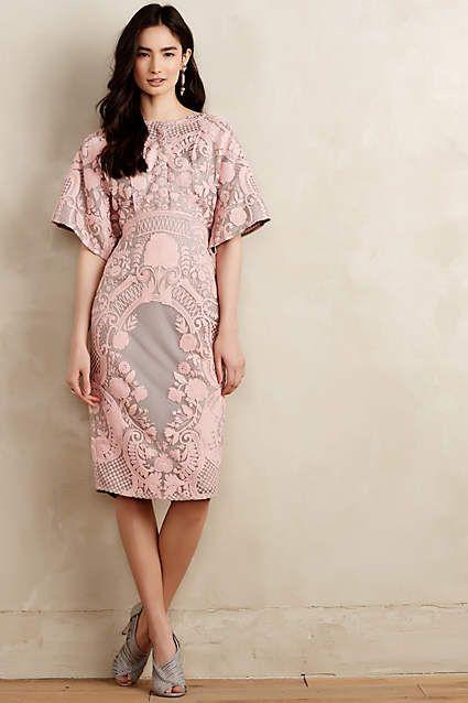 Pankaj & Nidhi - Leaflet Embroidered Maxi Dress - Lyst