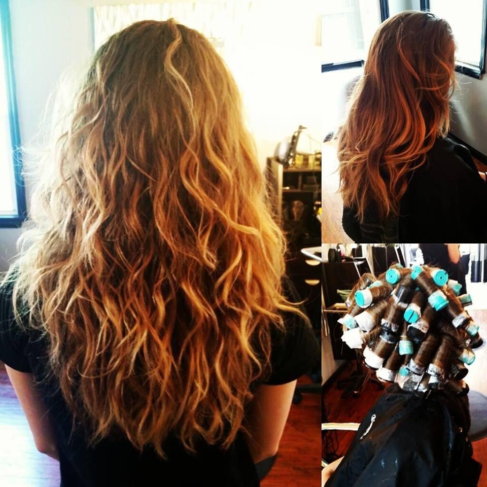 loose wave perm! | hair by laini | wave perm, permed