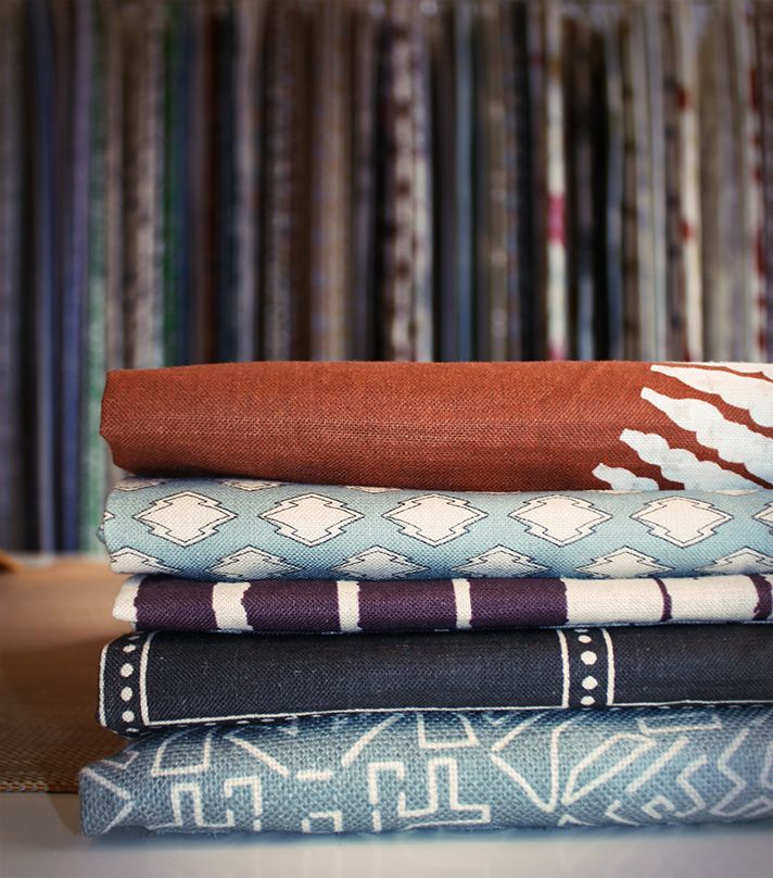 ZAK+FOX textiles at George Spencer Designs in London #design #pattern #textile #fabric #home #decor