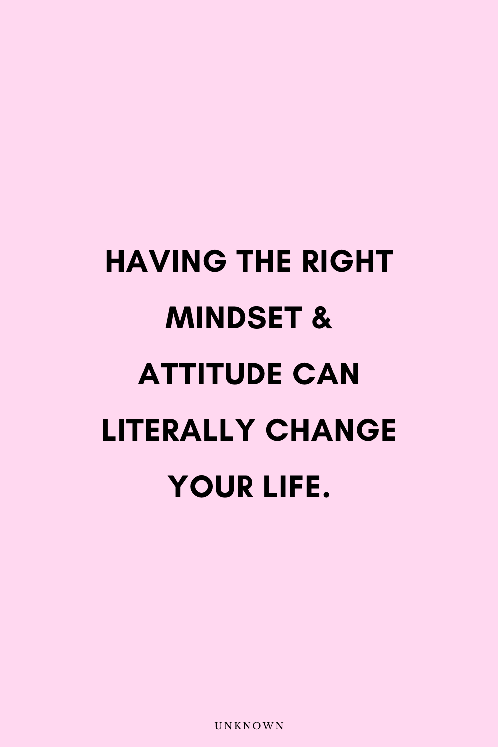 Life Changing Attitude Quotes