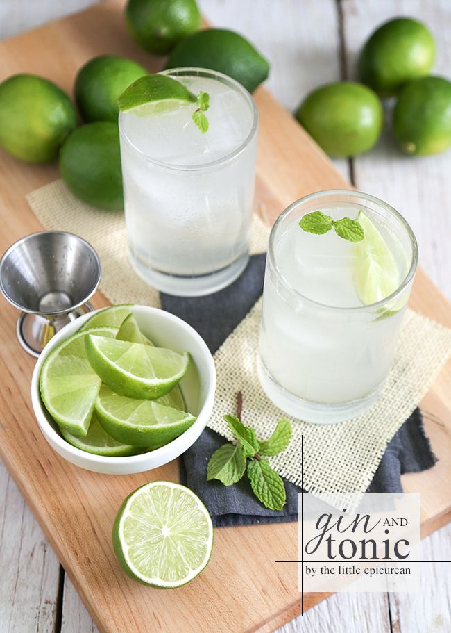 Thirsty Thursday: Gin and Tonic
