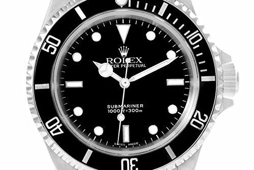 Rolex Submariner automatic-self-wind white mens Watch 14060 (Certified…