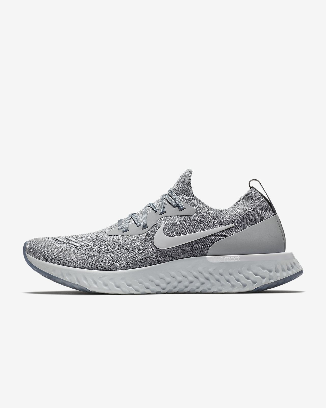 delincuencia ola escolta  Nike Epic React Flyknit Men's Running Shoe | Running shoes for men, Running  shoes fashion, Best running shoes
