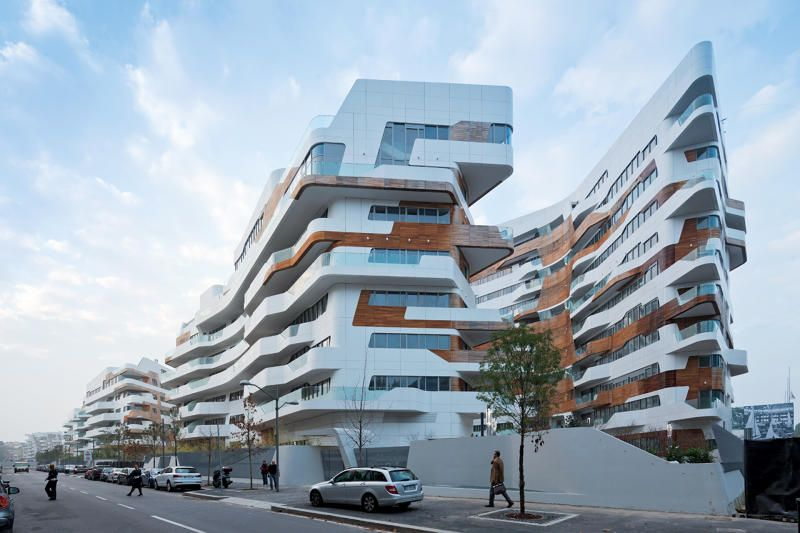 10 Of The World\'s Coolest Apartment Buildings | Zaha hadid ...