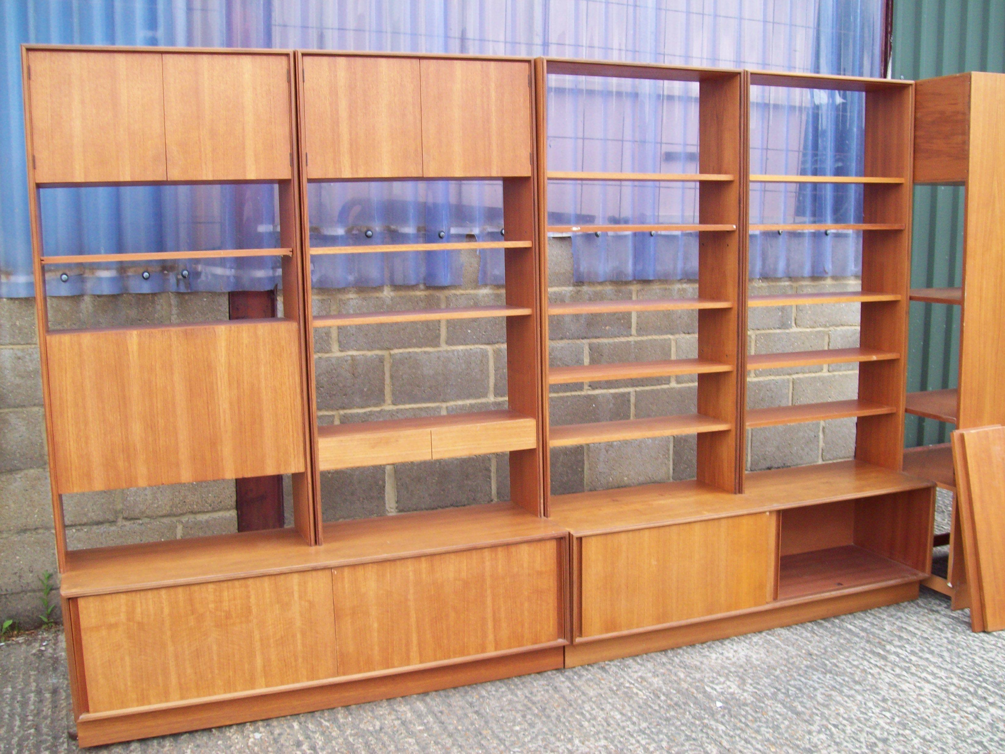 Massive Gplan Retro Living Room Dresser Shelves From Calico Catco
