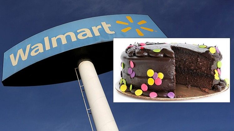 Texas woman banned from Walmart after eating half a cake