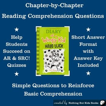 Reading comprehension questions diary of a wimpy kid 8 wimpy reading comprehension questions for diary of a wimpy kid book 8 hard luck solutioingenieria Image collections