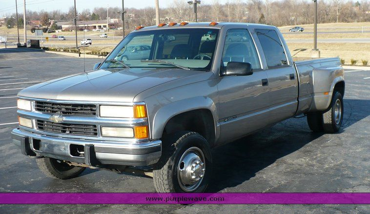 1998 Chevrolet Silverado K3500 4wd Dually V8 Chevrolet Cheyene Cool Trucks Chevy Trucks