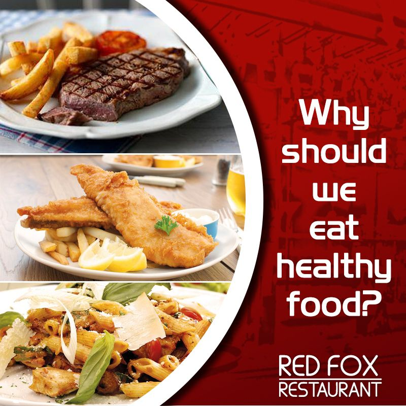 Why should we eat healthy food? Share your answer with us and Get 25% off on your total bill @RedFoxRestaurant.  #RedFoxRestaurant #Food #Warrandyte #Melbourne #Australia #Foodaddict #Eathealthy