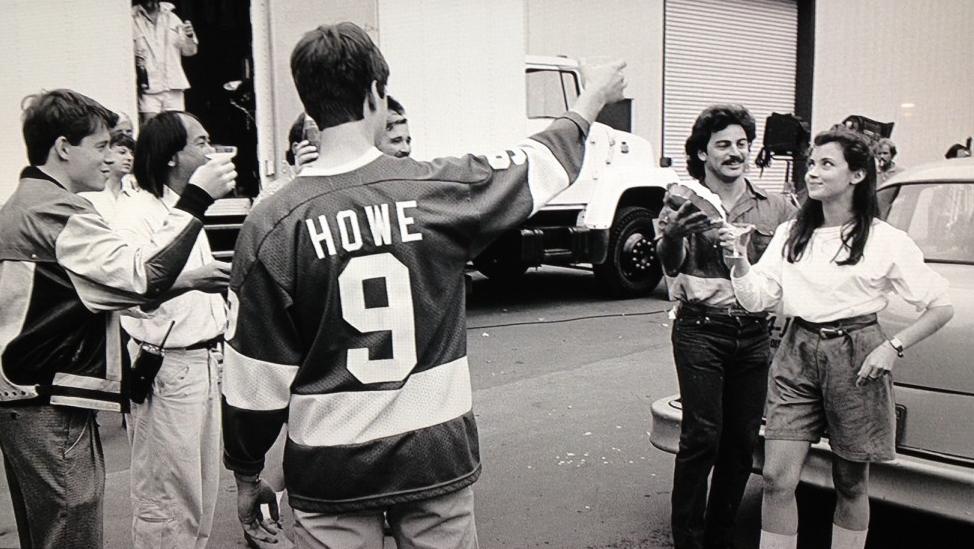20 Amazing Behind The Scene Film Photos Ferris Bueller S Day Off Iconic Movies Scene Photo