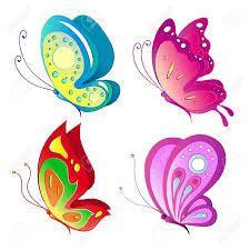 Imagen De Abeja Animada Butterfly Painting Butterfly Art Butterfly Images