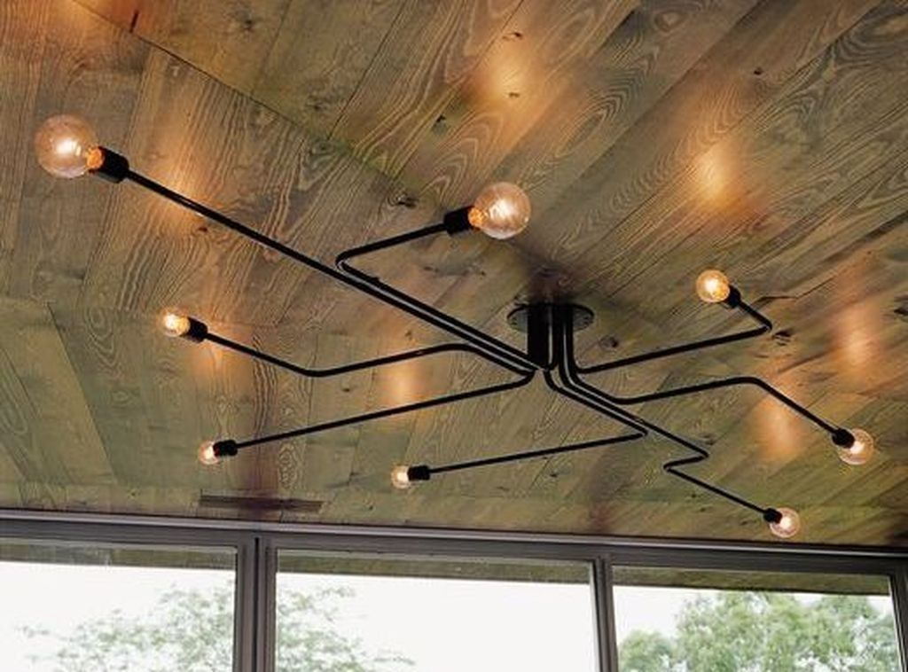 35 Inexpensive Industrial Lighting That Make Your Place Look Cool