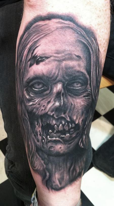 Bob Tyrrell Zombie From The Walking Dead The Walking Dead