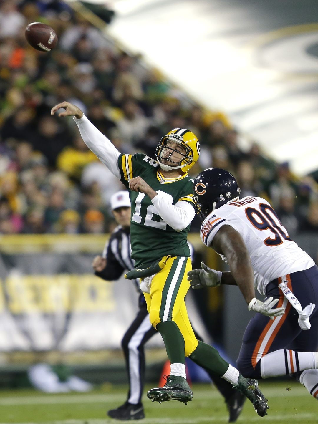 Week 10 Green Bay Packers 55 Chicago Bears 14 Green Bay Packers Packers Jordy Nelson