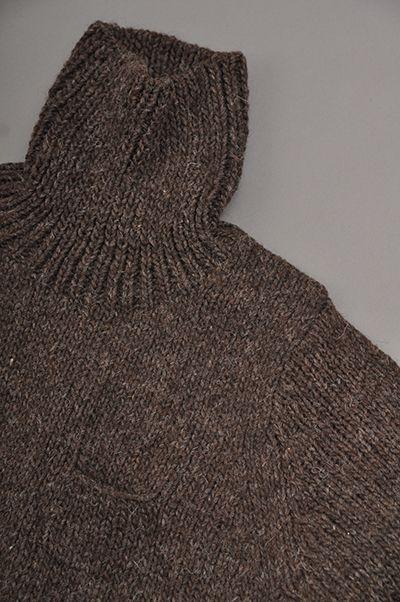ゴーシュ Highland Wool Turtleneck Knit