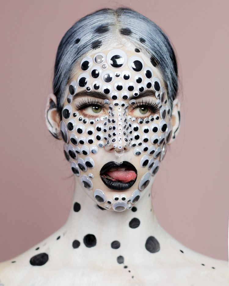 Makeuplook Googly Eyes Spindelsven Googley Eyes Eye Makeup