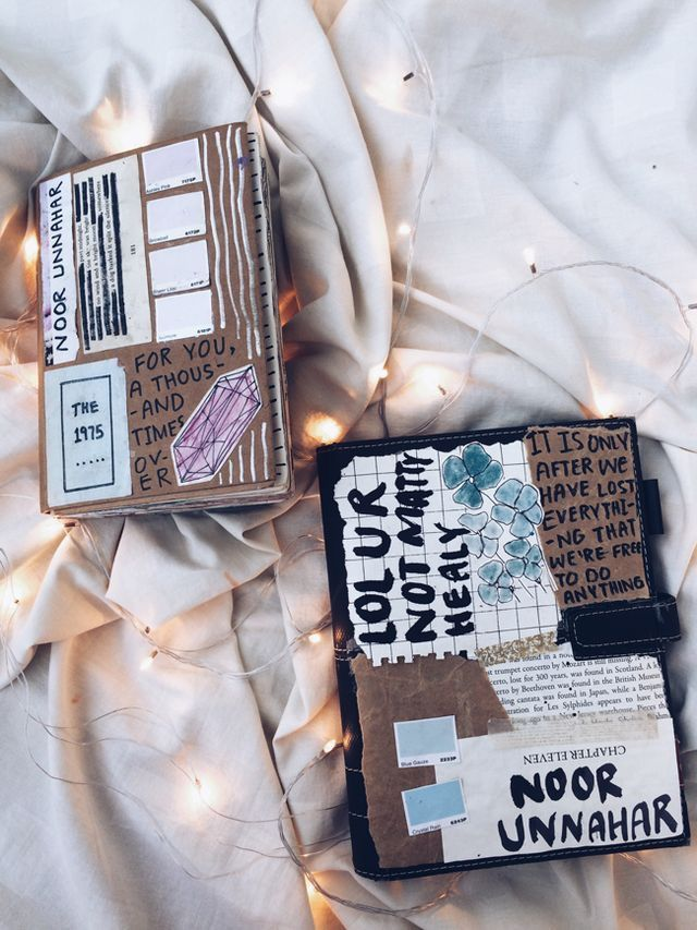 Pin by bethany gunn on diy & crafts | Art journal cover ...