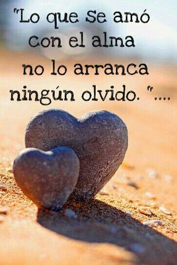 Lo Que Se Amo Con El Alma No Lo Arranca Ningun Olvido Quotes