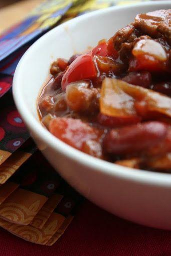 raspberries and cream: Chilli con carne
