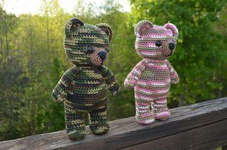 Camouflage Teddy Bears pattern by Belle Tracy #boydollsincamo Camo bear crochet ravelry pattern #boydollsincamo Camouflage Teddy Bears pattern by Belle Tracy #boydollsincamo Camo bear crochet ravelry pattern #boydollsincamo
