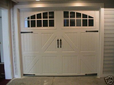 2 Carriage House Garage Door Hinge Handle Decorative Diy Curb Appeal Home Value Carriage House Garage Doors Carriage House Garage Garage Door Decorative Hardware