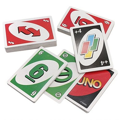 Standard Fun 108pcs Uno Playing Cards Game Family Friend Travel Instruction Clothing Shoes Jewelry Women Men Playing Card Games Card Games Uno Card Game
