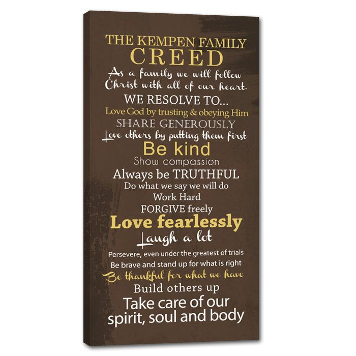 Family Rules Home Decor Fathers Day Sign By Geezeescustomcanvas